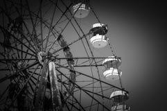 El Ferris rueda adentro Pripyat Fotos de archivo libres de regalías