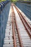El ferrocarril abandonado Fotografía de archivo