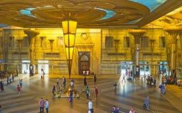 El ferrocarril central de El Cairo Imagenes de archivo