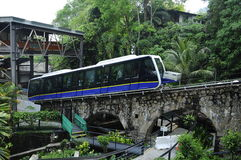 El ferrocarril de la colina de Penang Fotografía de archivo libre de regalías