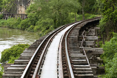 El ferrocarril de la muerte Foto de archivo