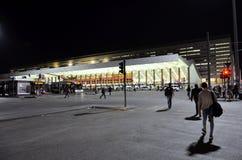 El ferrocarril de Roma fotografía de archivo libre de regalías