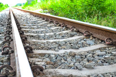 El ferrocarril viejo Foto de archivo