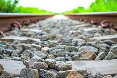 El ferrocarril viejo Fotografía de archivo libre de regalías