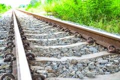El ferrocarril viejo Fotos de archivo libres de regalías