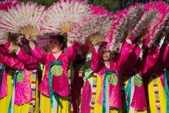 El festival coreano del 40.o LA el 28 de septiembre de 2013 en Los Ángeles Imagenes de archivo