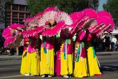 El festival coreano del 40.o LA el 28 de septiembre de 2013 en Los Ángeles Imagen de archivo libre de regalías