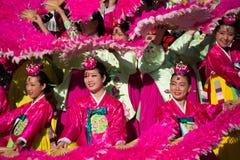 El festival coreano del 40.o LA el 28 de septiembre de 2013 en Los Ángeles Foto de archivo