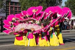 El festival coreano del 40.o LA el 28 de septiembre de 2013 en Los Ángeles Imagen de archivo