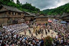 El festival de Guizhou foto de archivo