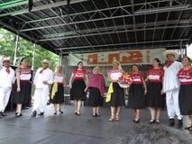 El festival 3 de la danza de 2013 danzas Fotografía de archivo libre de regalías