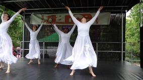 El festival 12 de la danza de 2013 danzas Imagenes de archivo