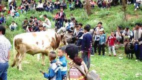 El festival de la tea del grupo étnico de Yi