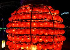 El festival 2016 de linterna de Gaoxiong Foto de archivo libre de regalías