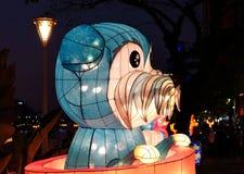 El festival 2018 de linterna en Taiwán Fotos de archivo libres de regalías