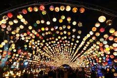 El festival 2017 de linterna en Taiwán Fotos de archivo libres de regalías