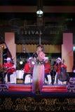 El festival de música Keroncong Fotos de archivo