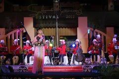 El festival de música Keroncong Foto de archivo libre de regalías