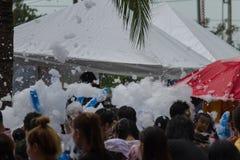 El festival de Songkran se celebra en Tailandia Imagenes de archivo