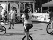 El festival 2016 de Unicyle 81 Imágenes de archivo libres de regalías