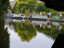 El festival del canal de Leeds Liverpool en Burnley Lancashire Fotos de archivo libres de regalías
