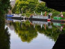 El festival del canal de Leeds Liverpool en Burnley Lancashire Fotografía de archivo