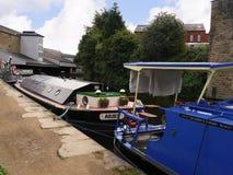 El festival del canal de Leeds Liverpool en Burnley Lancashire Fotos de archivo