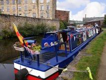 El festival del canal de Leeds Liverpool en Burnley Lancashire Imagen de archivo libre de regalías