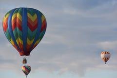 El festival 2016 del globo del aire caliente de Adirondack Fotografía de archivo