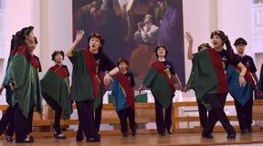 El festival del International XIV de Art Singing World coral Catedral de los santos Peter y Paul imagen de archivo libre de regalías