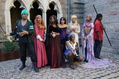 El festival medieval 2015 en el parque 9Part 2 30 de Tryon del fuerte Imagen de archivo libre de regalías
