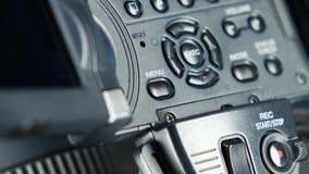 El finger que presiona el botón le gusta el menú almacen de video