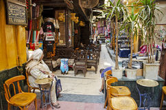 El fishawy cafe in cairo souk egypt Royalty Free Stock Photography