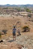 El Flinders se extiende paisaje. Sur de Australia. imagen de archivo