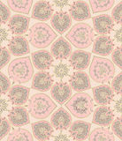 El Flourish tejó el modelo ornamento inconsútil geométrico floral oriental Fotografía de archivo libre de regalías