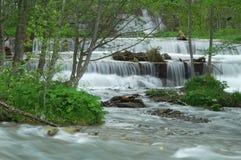 El fluir del agua Imágenes de archivo libres de regalías