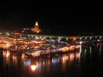 EL Fna, Marrakech de Djemaa   Photo stock