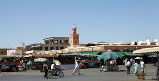 EL Fna Marrakesh de Jamaa Imagen de archivo libre de regalías