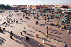 El Fna square - Morocco Royalty Free Stock Images