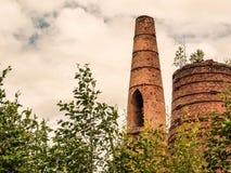 El foctory de mármol abandonada Imagen de archivo libre de regalías