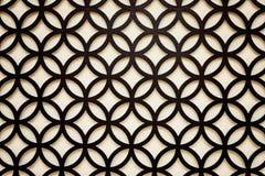 El fondo árabe negro del estilo Imagen de archivo