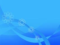 El fondo abstracto azul. Imágenes de archivo libres de regalías