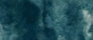 El fondo abstracto azul azul de la acuarela para los fondos de las texturas y las banderas de la web diseñan foto de archivo libre de regalías