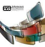 El fondo abstracto del color ilustración del vector