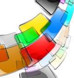 El fondo abstracto del color libre illustration