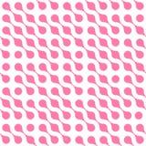 El fondo abstracto del rosa conectó puntos en el arreglo diagonal en el fondo blanco Papel pintado del tema de la molécula libre illustration
