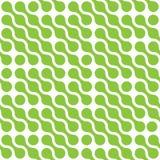El fondo abstracto del verde conectó puntos en el arreglo diagonal en el fondo blanco Vector inconsútil del modelo stock de ilustración