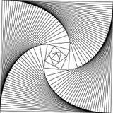 El fondo abstracto en estilo del arte del zen, la línea se tuerce en a libre illustration
