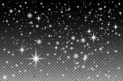 El fondo abstracto es un espacio con la nebulosa de las estrellas Vector libre illustration