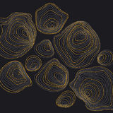 El fondo abstracto inspiró por naturaleza las formas de piedra Fotos de archivo